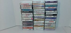 Lot-Of-50-Country-Music-Cassette-Tapes-With-Original-Cases-Dolly-Parton-More