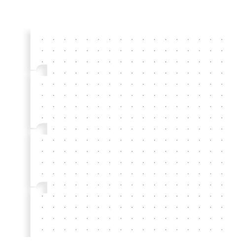 Filofax 152016 Nachfüllung für Notebook A5 dotted Notizpapier