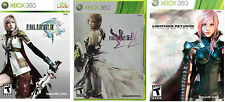 Final Fantasy: XIII & XIII-2 & Lightning Returns Trilogy Combo Pack [Xbox 360]