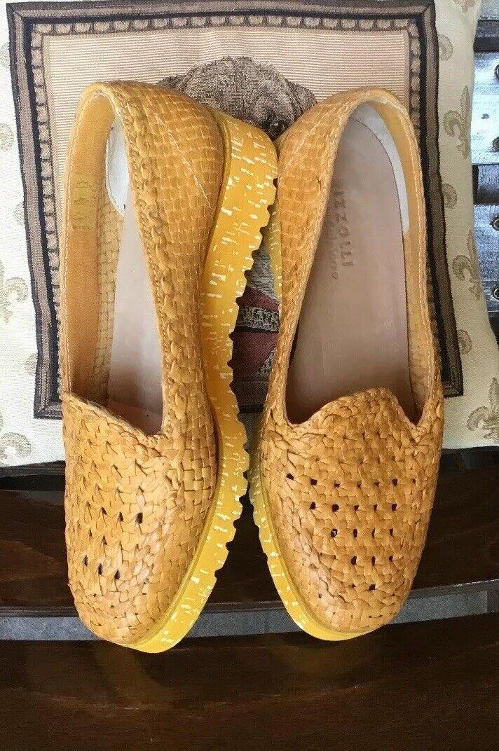 W NEU Rizzolli by Calpierre 38(Steht Gr.37,5) Damen Schuhe Leder Gucio Veto It.