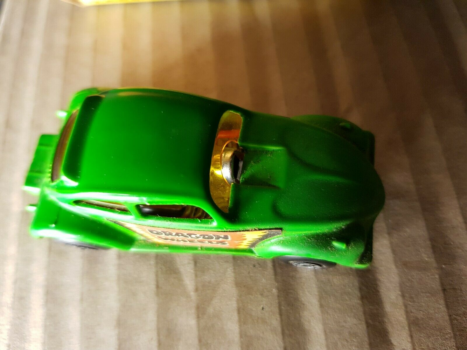 Matchbox VW Dragon Wheels Car - - - Vintage 1972 Green Volkswagon Lesney England car 19c2b8