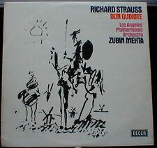 Richard Strauss Don Quixote UK 1974 LP Decca SXL 6634, Zubin Mehta