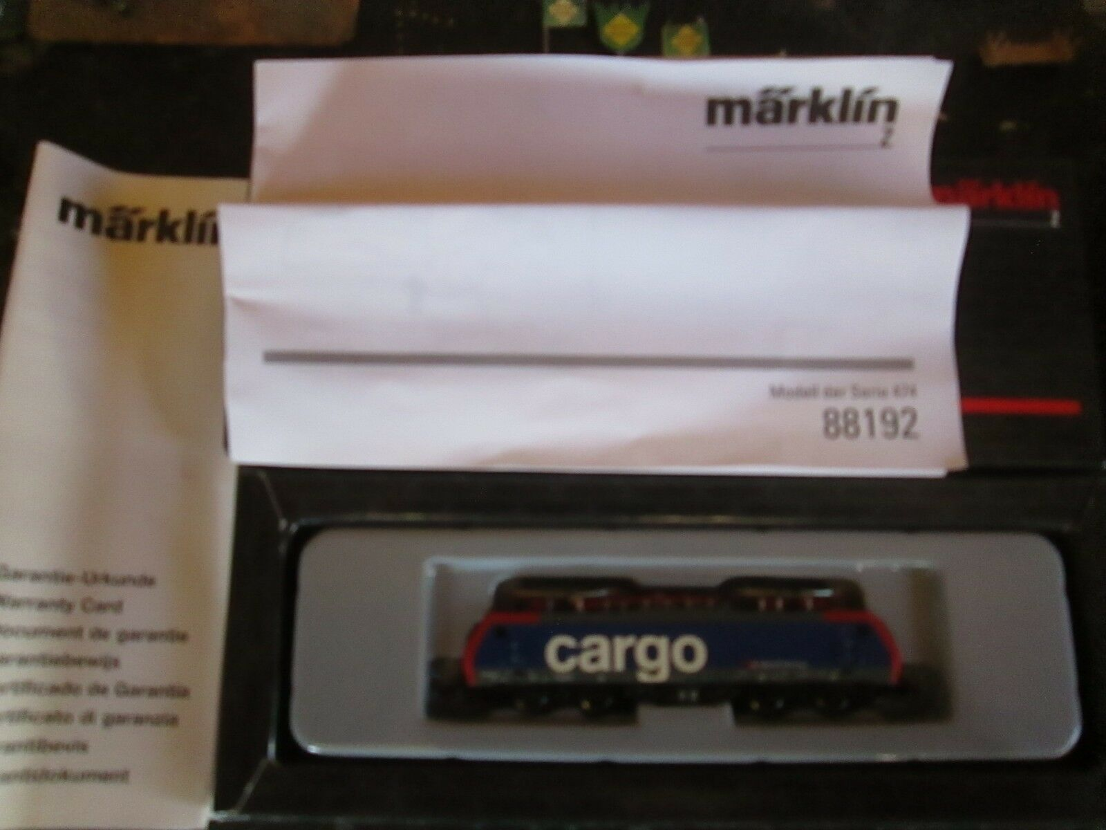 Marklin spur z scale/gauge SBB Electric Locomotive. NEW.