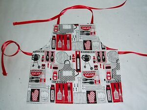 Barbecue-Apron-fits-American-Girl-dolls-18-034-Doll-Clothes-Outdoor-cooking-theme