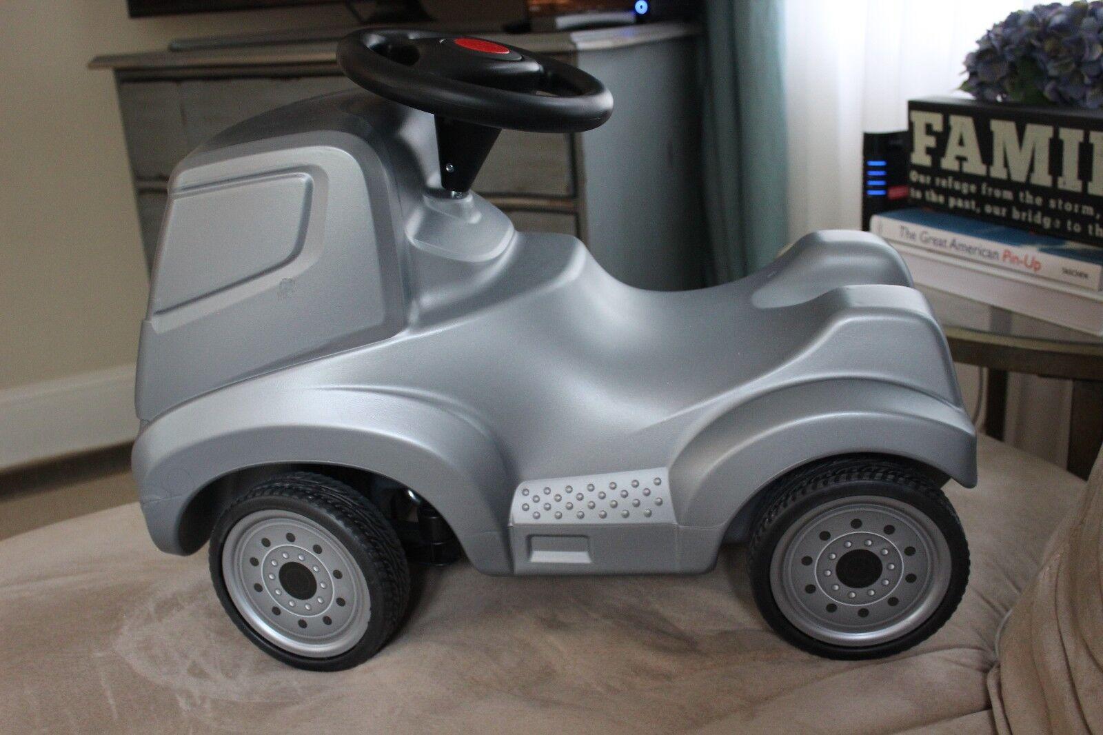 Ferbedo Mercedes Correpasillos coche Plata raro de Alemania duro encontrar elemento