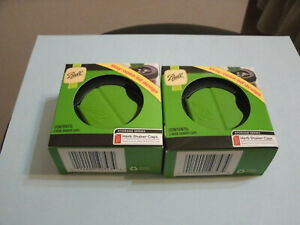 2 Pack Ball Herb Shaker Plastic Lids 2 Per Package