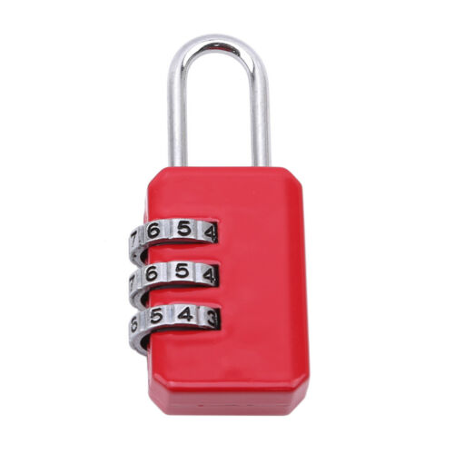 High Quality 3 Digit Dial Combination Padlock Home Door Luggage Lock one