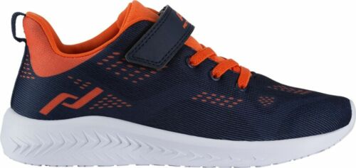 PRO TOUCH Enfants Chaussures De Course Baskets OZ 1.0 v//l Velcro Bleu Orange