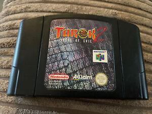 Turok 2: Seeds Of Evil   Nintendo N64   solo carro   PAL EUR