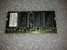 Memoria sodimm SDRAM Mosel Vitelic V43648Y04VCTG-10PC 64 mb pc100 144-pin
