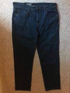 George dritta gamba Uomo 38 lunga taglia blu Jeans gRp4xw4