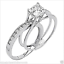 2-Ct-Princess-Cut-2-Piece-Engagement-Wedding-Ring-Band-Set-Solid-14K-White-Gold thumbnail 1