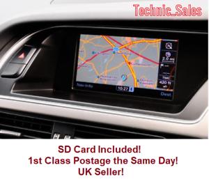 Details about Audi 2018 MMI 3G Basic Sat Nav Map Update Europe SD Card  A4/A5/A6/Q5/Q7