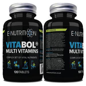 Vitabol-120-Compresse-Multi-Vitamine-e-minerali-per-uomini-e-donne-ad-alta-resistenza