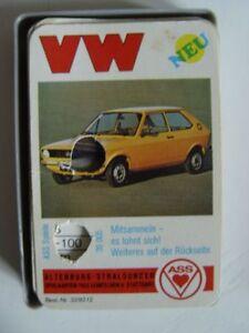 VW-VOLKSWAGEN-ASS-QUARTETT-Nr-3292-2-Vollstaendig-in-Grossbox-Altenburg