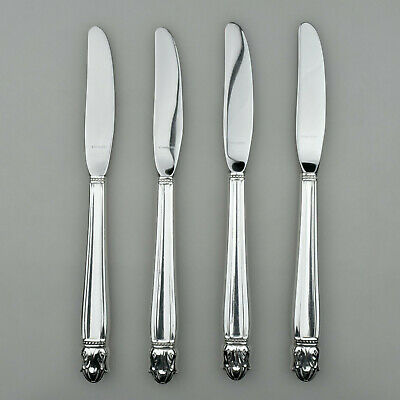 9 Silver Plated One 1 in the Danish Princess 1938 Pattern. Hollow Handle Dinner Knife from Holmes /& EdwardsInternational Silver
