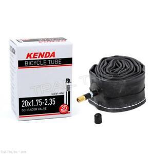 "1.95 2PCS KENDA 20/"" x1.75 2.125 Schrader Valve BMX Bike Inner Tube Recumbent"