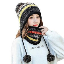 80481d95715 item 1 New Women Scarf Hat Set Winter Warm Neck Guard Fleece Lined Knitted  Soft Caps UK -New Women Scarf Hat Set Winter Warm Neck Guard Fleece Lined  Knitted ...