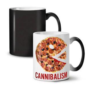 Cannibal Pizza Food NEW Colour Changing Tea Coffee Mug 11 oz   Wellcoda