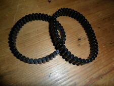 NEODYMIUM MAGNETIC BRACELET FOR FASHION AND THERAPY - TWO IDENTICAL BRACELETS