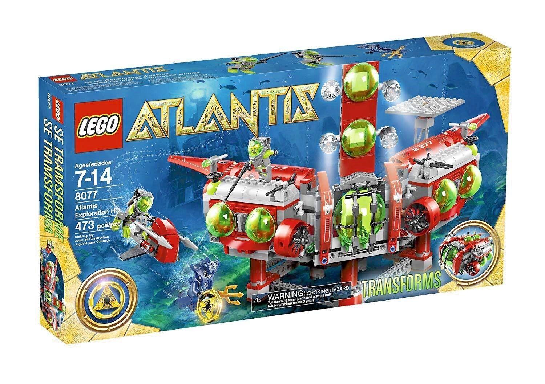 Lego Atlantis 8077 exploración HQ Minifiguras NISB