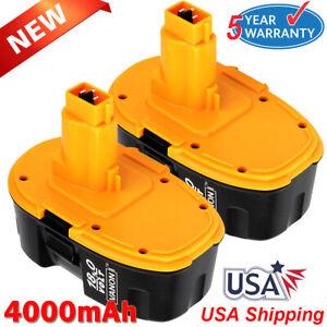 2X-Upgraded-For-Dewalt-18V-18-Volt-4-0Ah-XRP-Battery-DC9096-DC9098-DC9099-DW9095