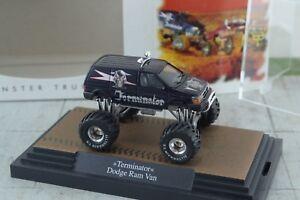 Busch Monster Truck Dodge Ram Van Terminator 1 87 Scale Ho Ebay