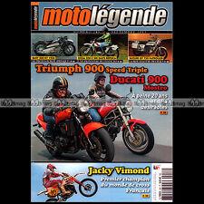 MOTO LEGENDE N°248-b TRIUMPH SPEED TRIPLE 900 DUCATI MOSTRO BMW R7 SUZUKI GT 750