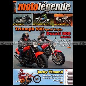 MOTO-LEGENDE-N-248-b-TRIUMPH-SPEED-TRIPLE-900-DUCATI-MOSTRO-BMW-R7-OSSA-250-JZR