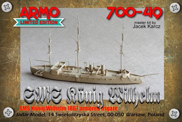 Armo 700-49 1 700 SMS König Wilhelm 1867