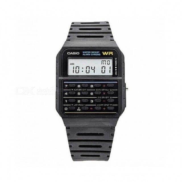 fe3274918b6b Reloj casio CA-53W-1CR reloj calculadora alarma cronometro envios en 24 48