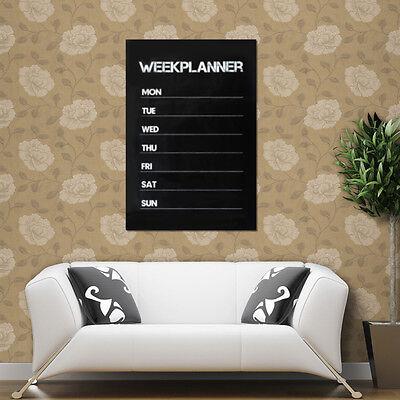 Weekly Planning  Planner Memo Chalk board Design Blackboard Wall Sticker