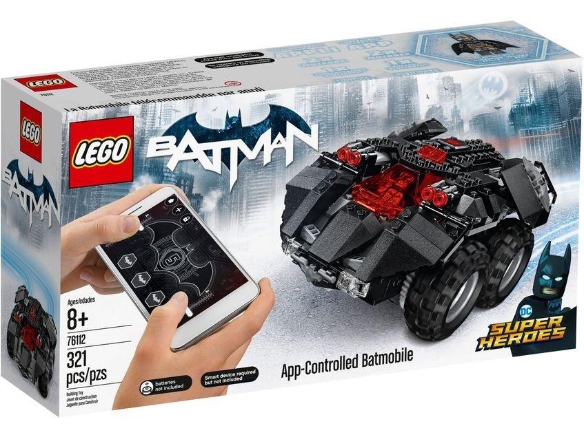 LEGO DC Comics Superheroes Batman blutooth Compatible App Controlled Batmobile