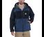 Carhartt Force Hooded Jacket Regenjacke Herrenjacke Dunkelblau Navy 104245