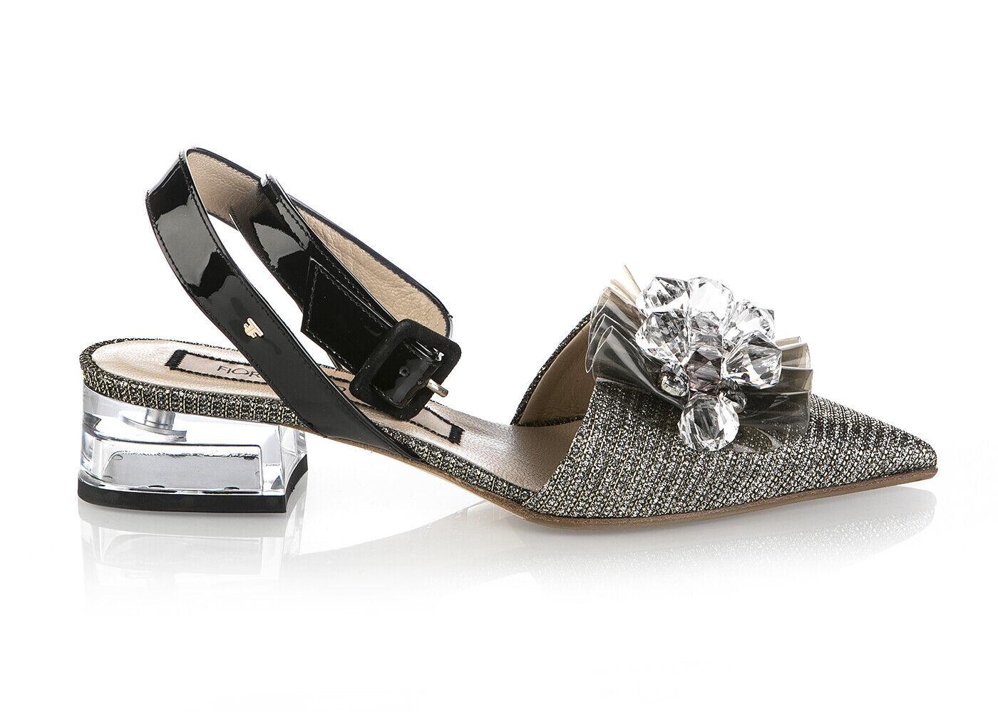Authentic Fiorangelo Italian Leather Designer Sandals New Sizes 6,7,8,10 gold