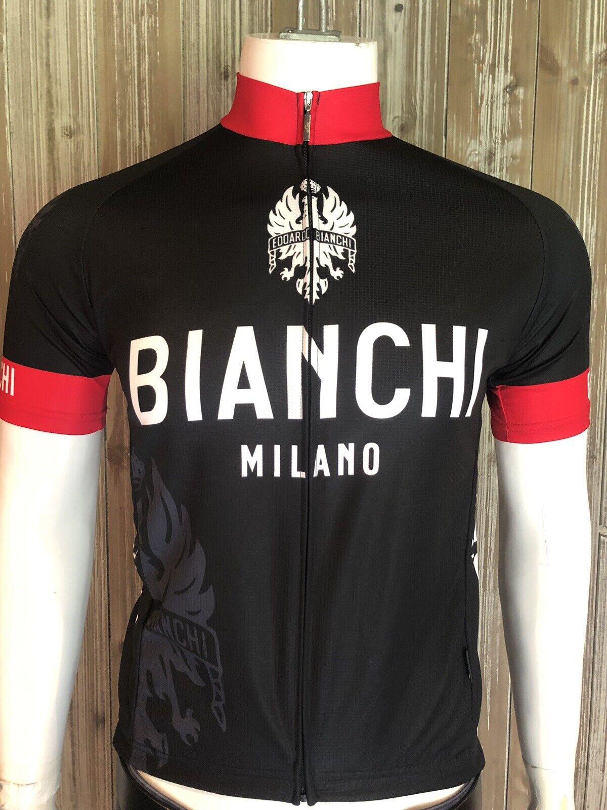 Rare Bian   Milano Cycling Jersey Size Medium  considerate service