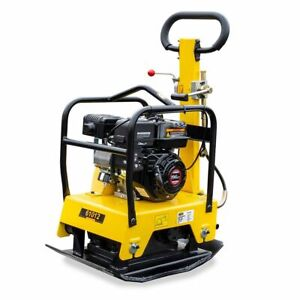 Reversible-6-5HP-Gas-Walk-Behind-Vibratory-Plate-Concrete-Compactor-Rammer-c125