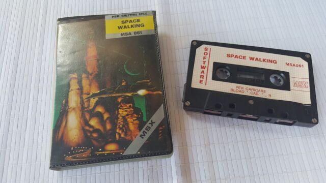 MSX Game - Space Walking