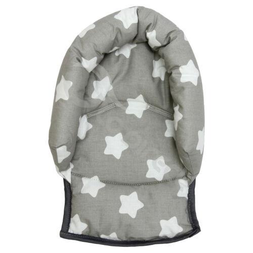 hood COTTON straps cover Infant Baby Toddler car seat stroller head hugger