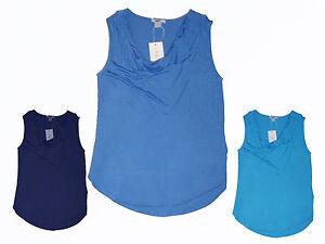 Damenshirt-T-Shirt-Tunika-Top-Wasserfall-Ausschnitt-Viskose-XS-M-Farbe-waehlbar