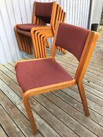 Spisebordsstol, Træ, Magnus Olesen, b: 48, Magnus