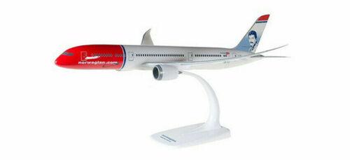 """Herpa   611503 1:200 snap fit Norwegian b787-9 dreamliner /""""Freddie Mercury/"""""""