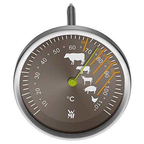 WMF Bratenthermometer Scala Markierung Empfohlenen Garpunkte für Rind Kalb Lamm