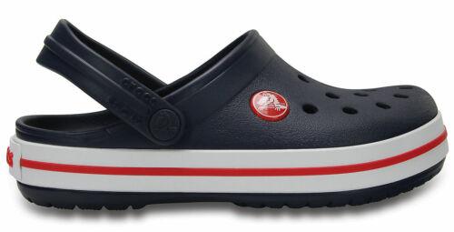 Crocs Kinder Sport Freizeit Clogs Kids/' Crocband™ Clog navy rot