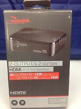 Rocketfish 4K HDMI Splitter (RF-G1502-C) 4K Compatible