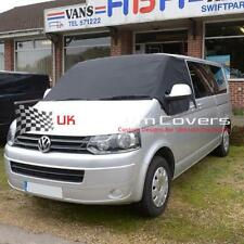 VW T5 TRANSPORTER DELUXE WINDSCREEN SCREEN CURTAIN WRAP COVER 190 BLACK
