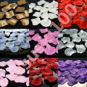 Rose Petals Silk Confetti Wedding Top Table Decoration Thick