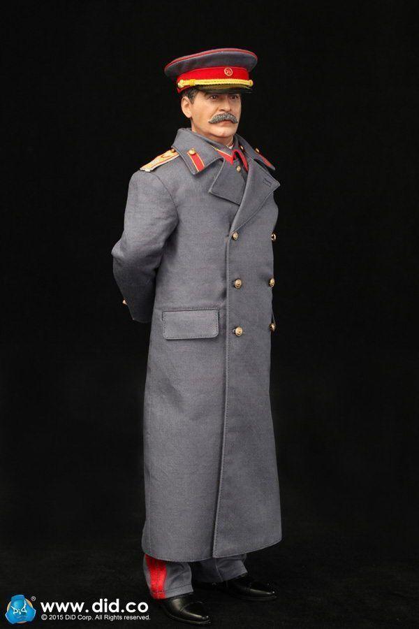 DID 1/6 Scale WWII Soviet Joseph Jughashvili Stalin  1878-1953  Action Figure