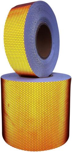 Hi Viz Intensity Orange Reflective Tape 150mm x 2.5m Exterior Sign Decal