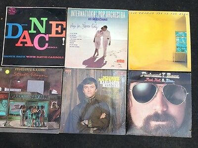 Vintage Vinyl Record  Album Collection Lot Of 6-1970s, As Is